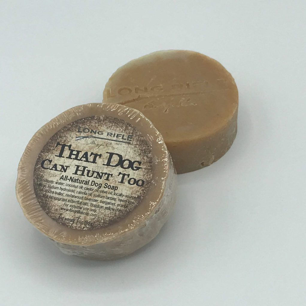 Long Rifle That Dog Can Hunt Too Dog Soap