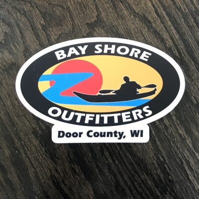 """Bay Shore Outfitters Sticker 5"""""""