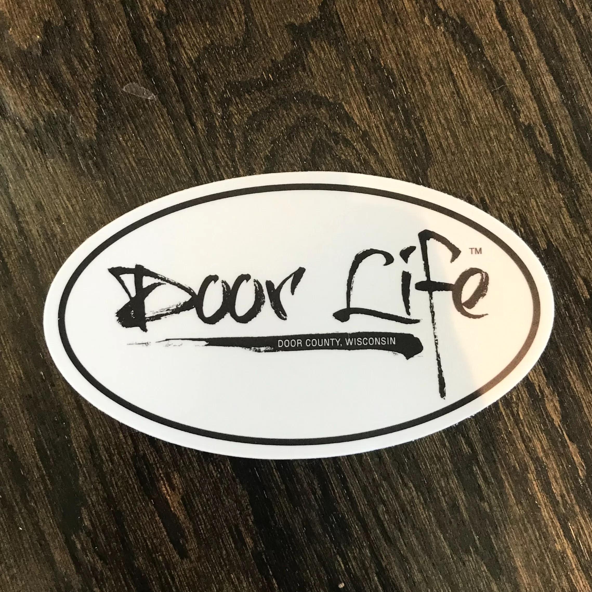 """Door Life Sticker 5"""""""