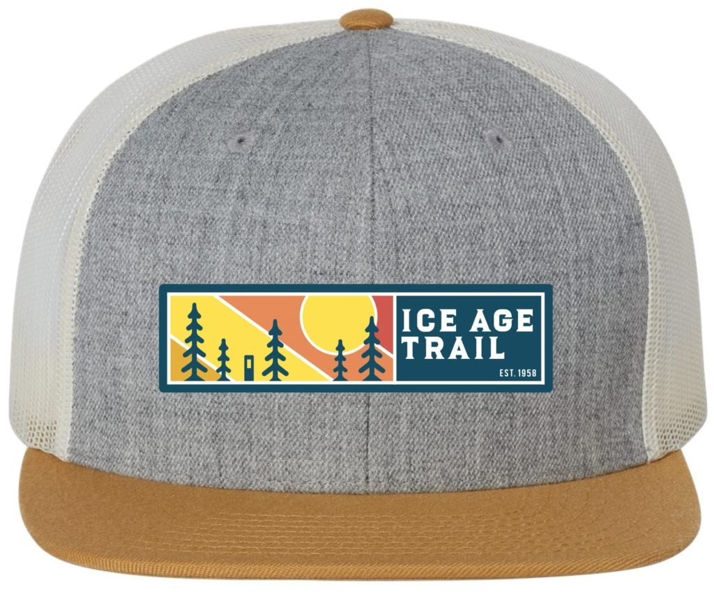 Ice Age Wool Blend Trucker Flatbill Hat