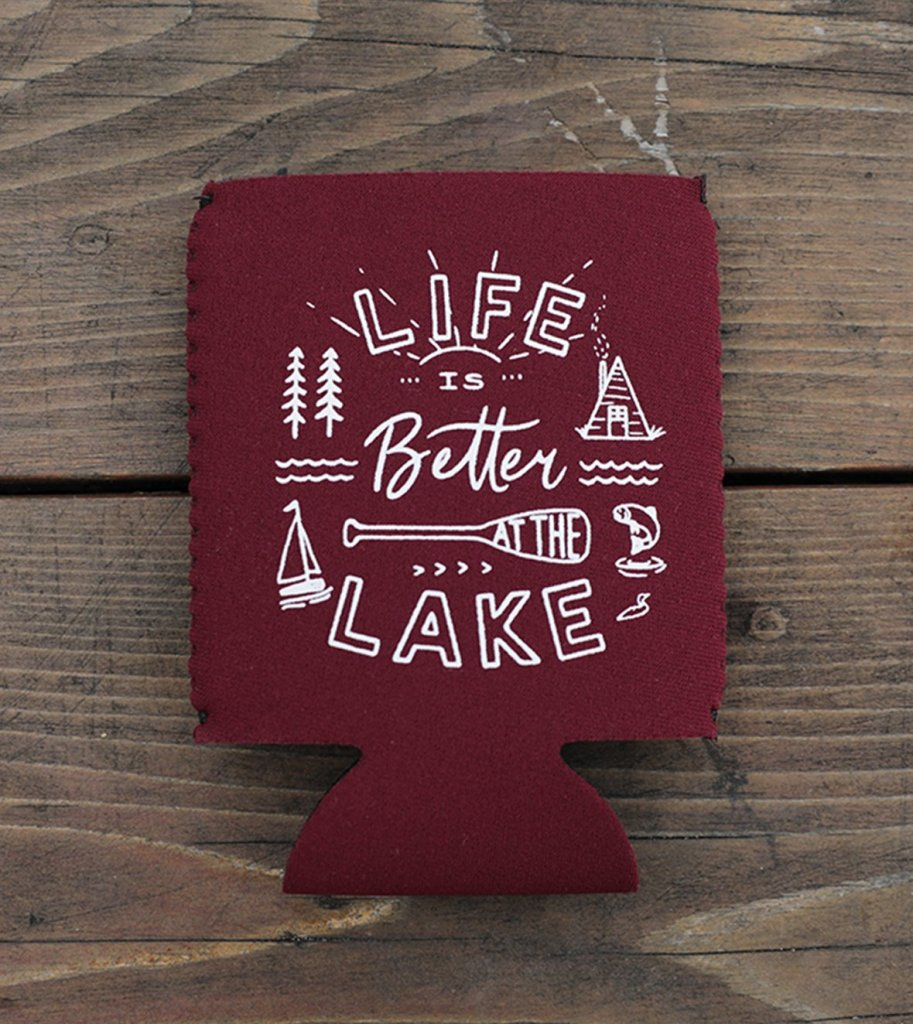 Great Lakes Koozie Lake Life