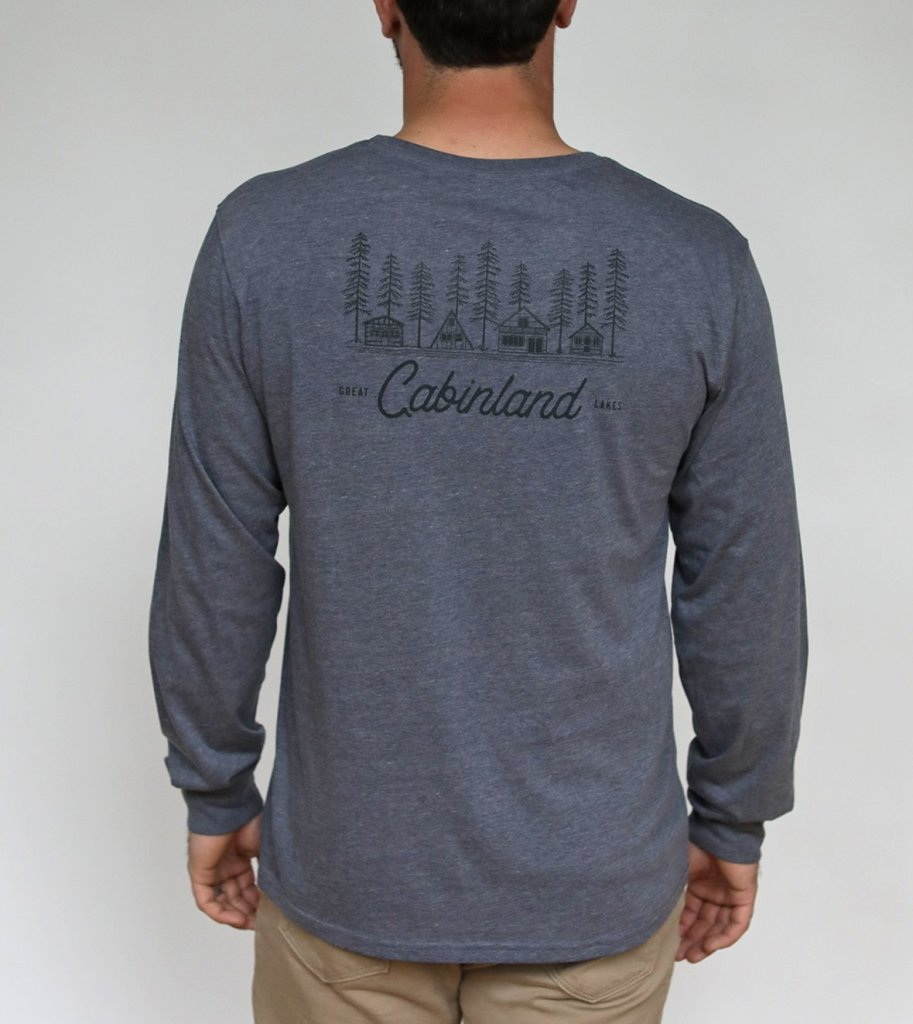 Great Lakes Cabinland L/S Tee