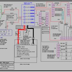 Marine Power Wiring Diagram Mitsubishi Forklift Alternator Bayside Design Services