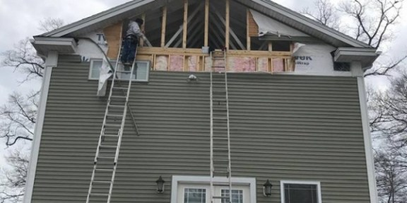Siding replacement in Peabody MA