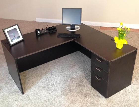 Affordable Office LShaped Desks Baystate Office Furniture