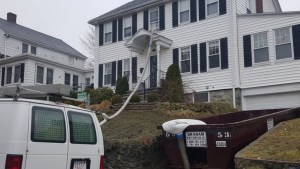Residential mold removal job