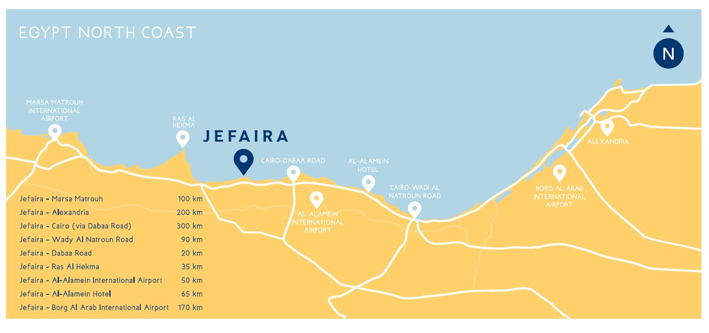 JEFAIRA North Coast Resort