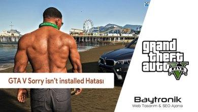 Photo of GTA 5 Sorry, Grand Theft Auto V isn't installed on this system Hatasının Çözümü