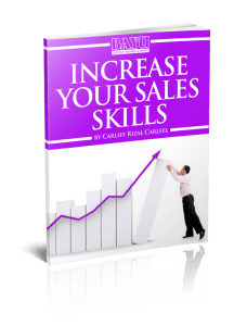 Increase Your Sales Skills eCourse