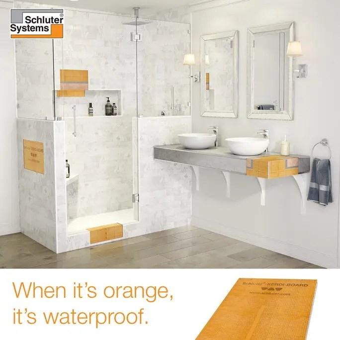 schluter shower system complete