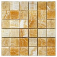 Onyx Tile Mosaic. Buy Honey Onyx Pinwheel 1x2 Mosaics With