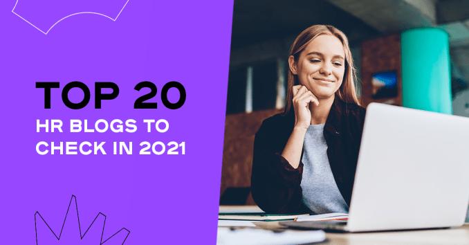 Top 20 HR Blogs in 2021