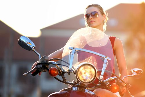 14% of Motorcycle Owners are … Women