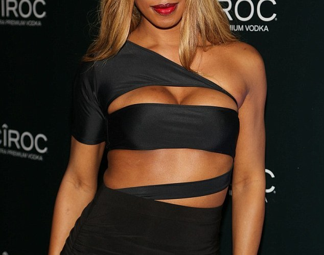 PHOTOS:  Actress Laverne Cox stuns at Diddy 's New Years Eve Bash