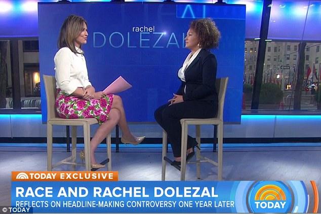 One year later, Rachel Dolezal is back