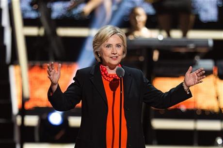 Hillary Clinton stopped by Black Girls Rock