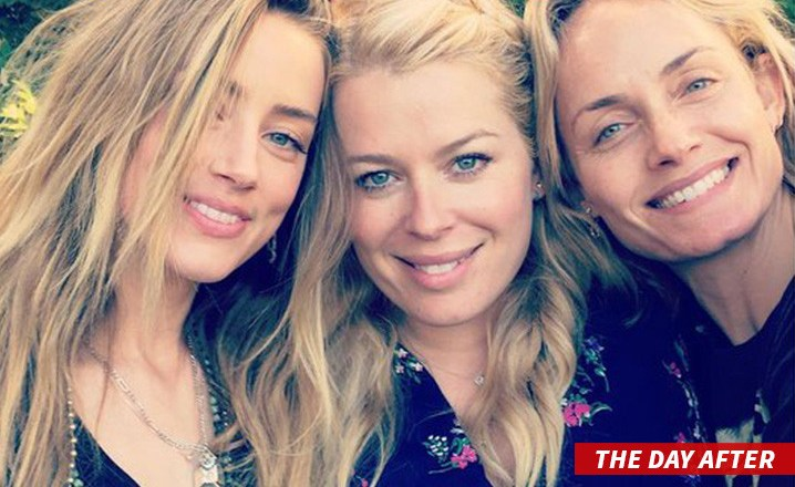 PHOTO: Photo of Amber Heard day after Johnny Depp allegations surfaces online