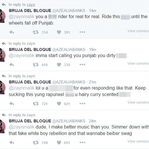Azealia Banks kicked out of UK festival after bizarre Twitter comments