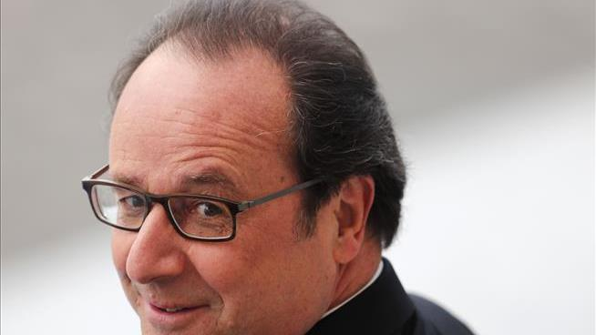 French president Francois Hollande has an $11,000 a month tab for his HAIR