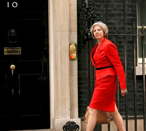 The Daily Mirror demands Prime Minister May order general election