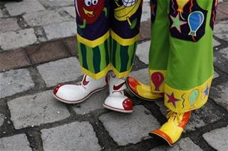 The Creepy Clown Movement has arrived in London