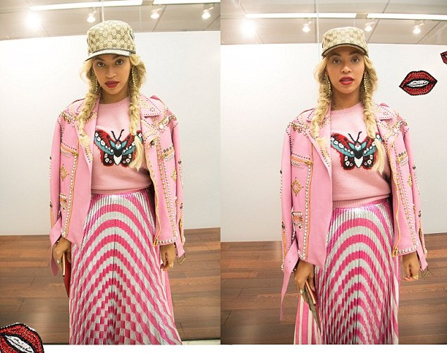 PHOTOS:  Beyonce's unusual but expensive outfit