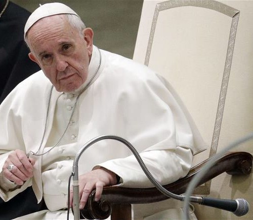 The perverted Pope just became a disgrace