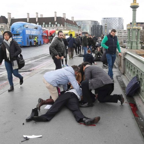 Terror attack hits London, casualties unknown