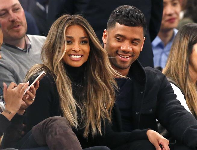 Ciara and Russell Wilson have welcomed a daughter together