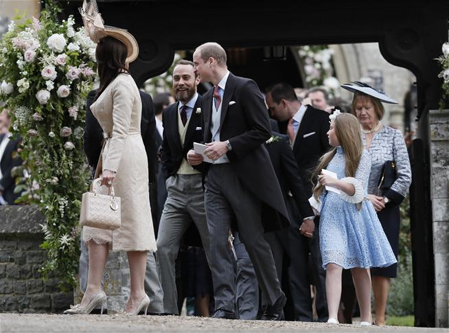 A look at Pippa Middleton 's glamorous High Society wedding