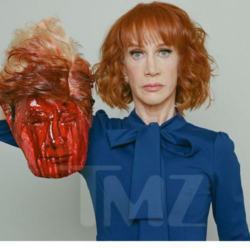 Kathy Griffin has been fired after that photo of Donald Trump appeared online