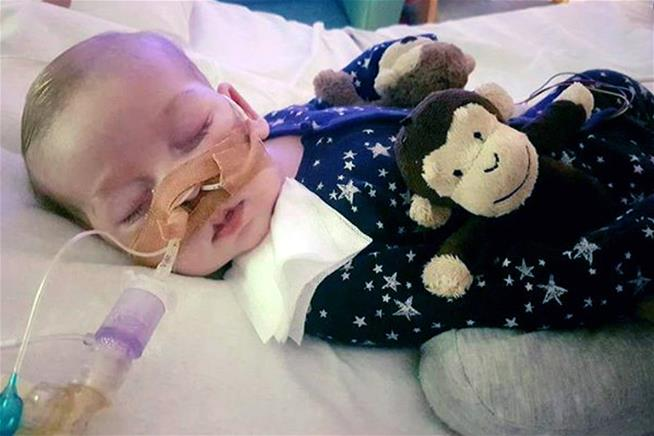 The UK is denying a terminally ill baby a chance at real help