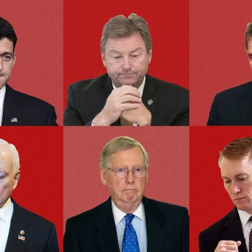 Here are the pansy Republicans protecting their jobs instead of the AMERICAN PEOPLE