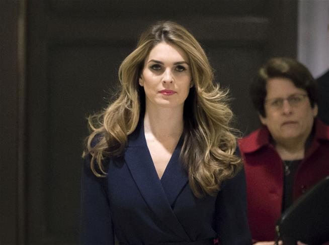 Hot Read Today:   A profile on former W.H leading lady Hope Hicks