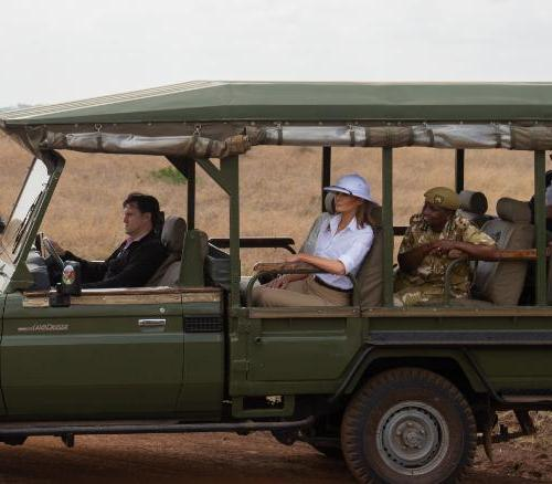 Melania Trump just wrapped her four-nation tour of Africa