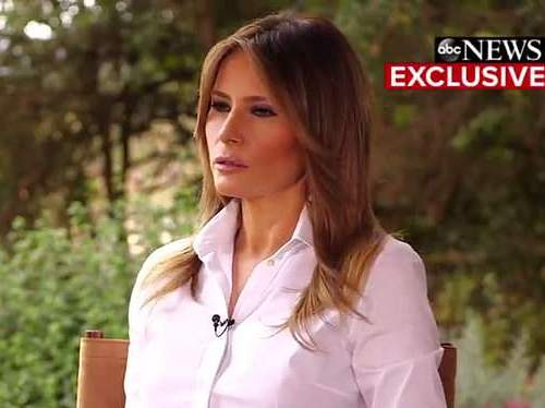 First Lady Melania Trump:  #MeToo accusers need evidence before coming forth