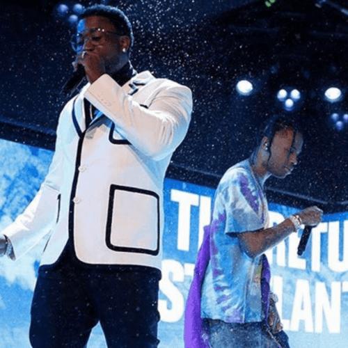 "Travis Scott & Gucci Mane collab for ""Murda"""