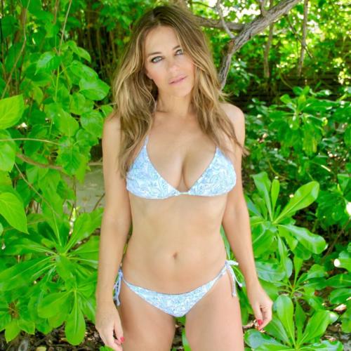 Bikini clad Elizabeth Hurley shines in sultry Instagram Post: Pics