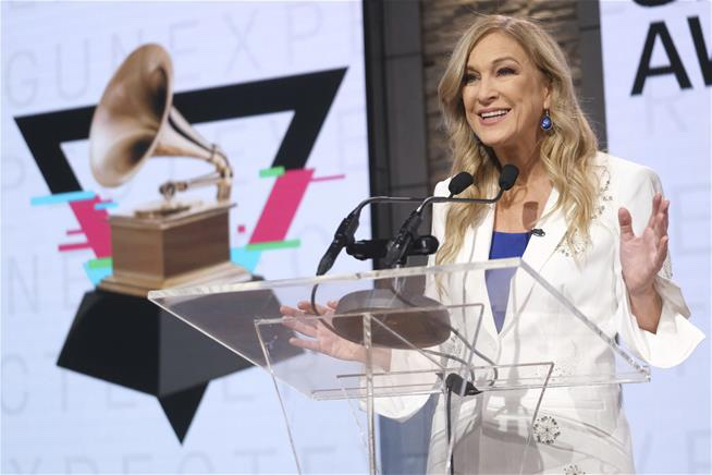 Grammy's Chief suspended over sexual misconduct claims