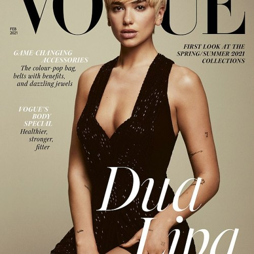 Photos: Dua Lipa stuns on the cover of British Vogue