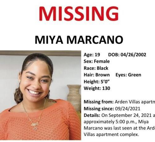 Miya Maracano, 19,  has been found dead in Florida