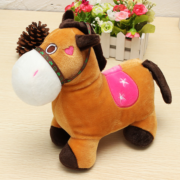 Buy Cute Horse DollPlush Toy HorseValentines Day Gift