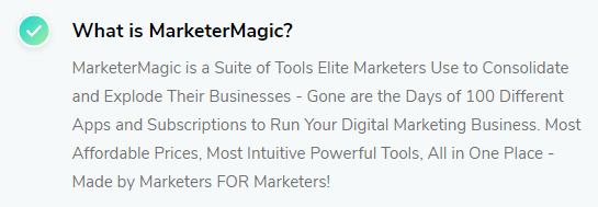 MarketerMagic Review 3
