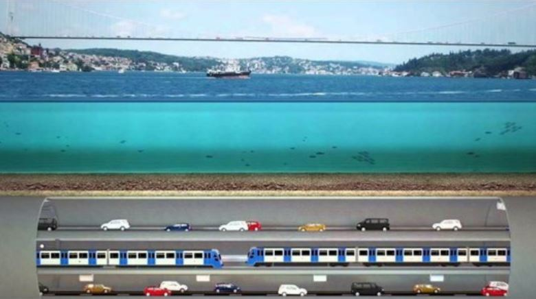 International firms interested in grand 3-story Istanbul underwater tunnel 1