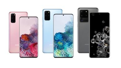 Samsung Galaxy S20 lineup, featuring full 5G and AI camera technologies 23