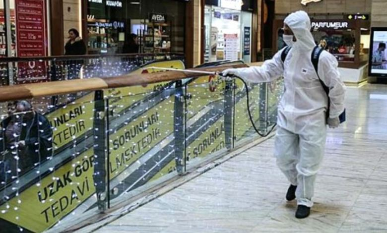 Shopping malls closed due to coronavirus are preparing to open between May 8-15 in Turkey 1