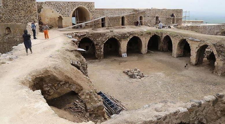 Turkey restoring 1,600-year-old monastery 1