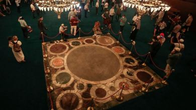 Coronation area not carpeted in Hagia Sophia: Official 9