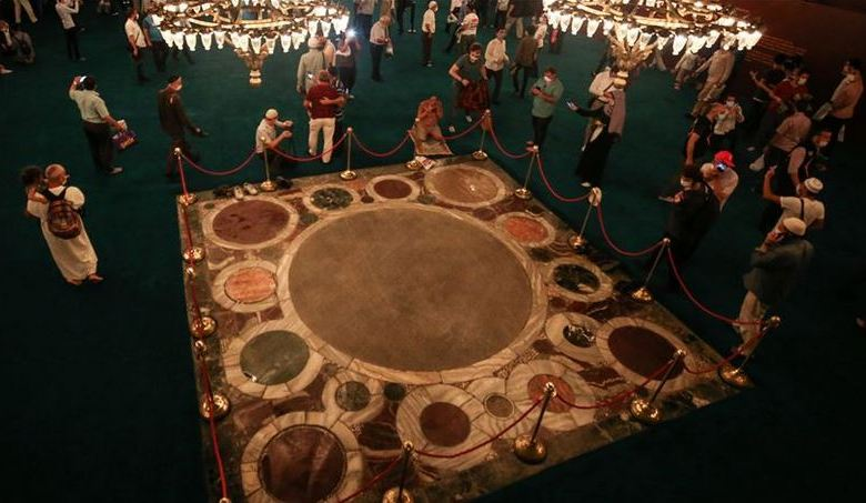 Coronation area not carpeted in Hagia Sophia: Official 1