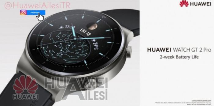 Huawei Watch GT 2 Pro images & features leak 1